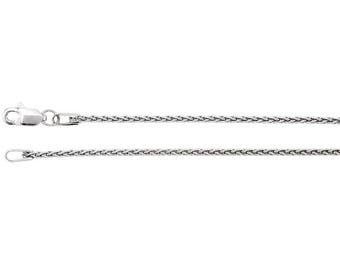Silver Wheat Style Chain