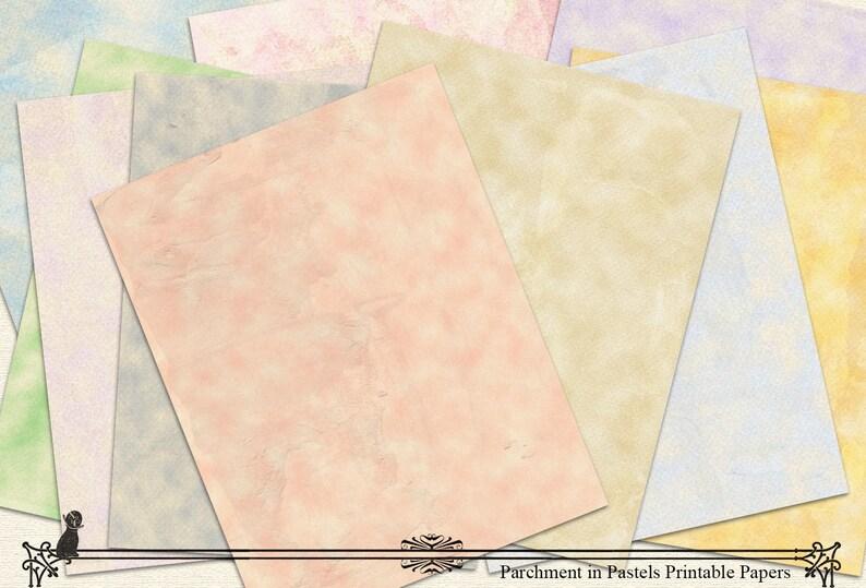 photo regarding Parchment Paper Printable named Printable Paper Parchment Paper Pastel Papers Electronic Paper Sbook Paper Junk Magazine Paper Sbook Components Fast Obtain