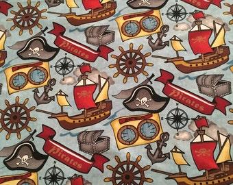Springs Creative - AHOY MATEY 100% cotton fabric