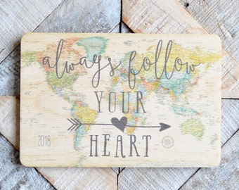 Always Wooden Postcard