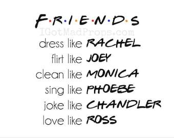 Friends TV Show Print