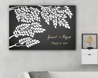 Wedding Poster Tree / Wedding Guest book / Wedding guestbook / Wedding Tree / Alternative guestbook / Wedding gift idea / Unique guest book
