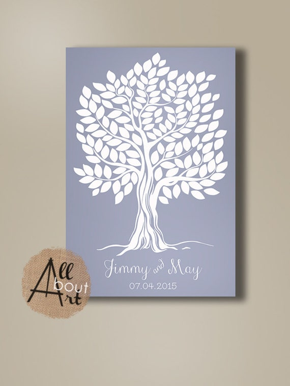 Guest Books Wedding tree Unique guestbook tree poster Wedding guestbook alternative Wedding guest book Tree Wedding poster Tree