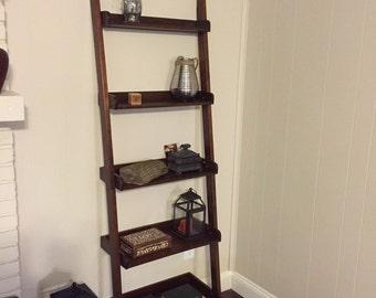 Ladder Shelf Leaning Book