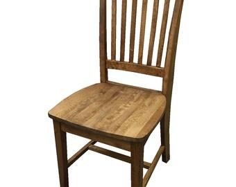 Lancaster Farmhouse Chair (Light Walnut)