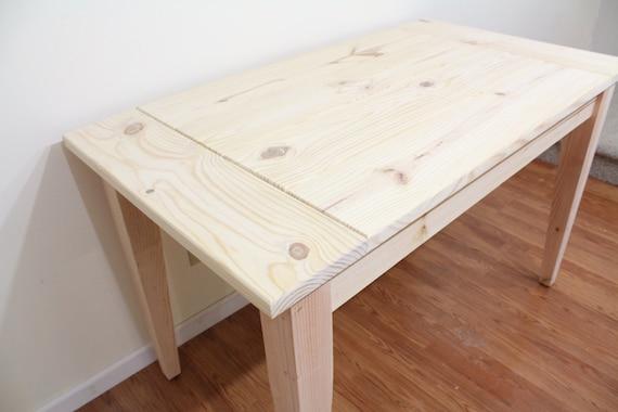 Pleasing Unfinished Farmhouse Table Dinning Table Kitchen Table Interior Design Ideas Skatsoteloinfo