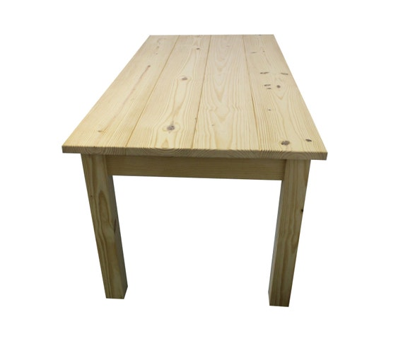 Unfinished Farmhouse Kitchen Table Unfinished Dining Table