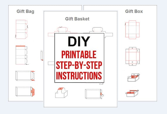 Diy gift bag diy gift basket gift box instant pdf download printable diy gift bag diy gift basket gift box instant pdf download printable make your own do it yourself from rcshopspot on etsy studio solutioingenieria Choice Image