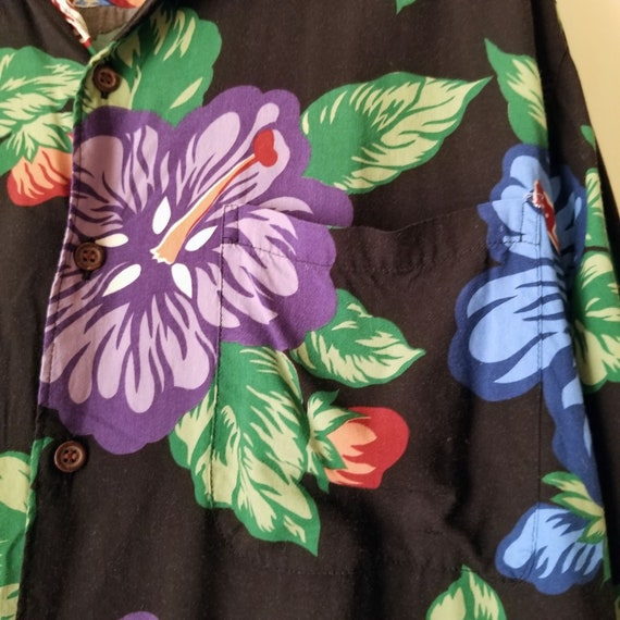 Reyn Spooner Mens Hawaiian Aloha Shirt Hawaii Flo… - image 8