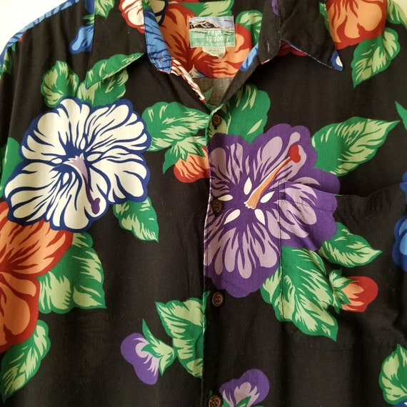 Reyn Spooner Mens Hawaiian Aloha Shirt Hawaii Flo… - image 5