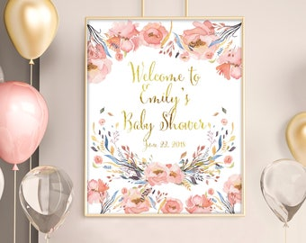 Baby Shower Decorations Girl Etsy