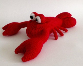 Stuffed Lobster Toy Etsy