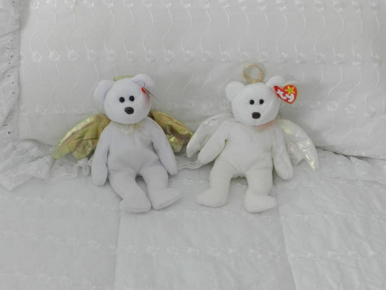 Beanie Babies  Halo Teddy Bear Halo II sold out  a24d6a92507