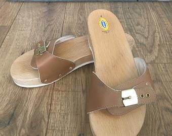 b49c08ffd0d184 Vintage Dr Scholl s Original Sandal