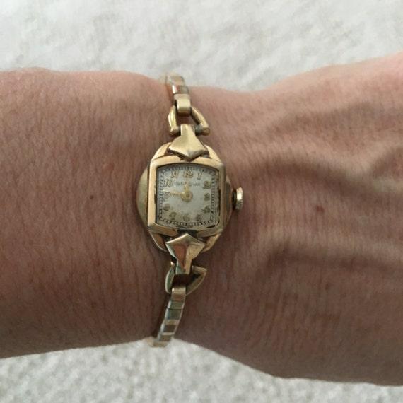 Vintage Bulova A3 Watch el reloj y caso Bulova Fifth Avenue | Etsy