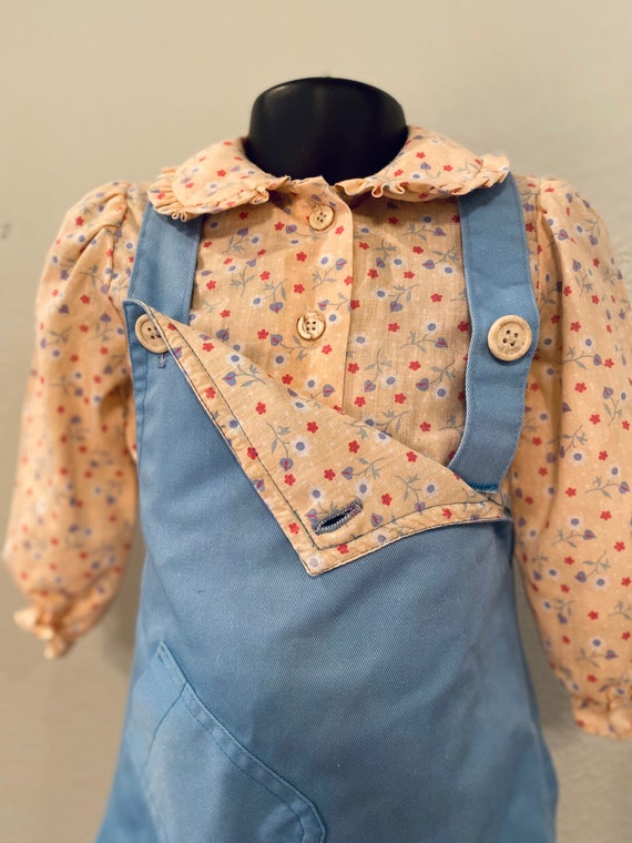 Vintage Health-Tex Jumper and Blouse, 70s girls c… - image 2
