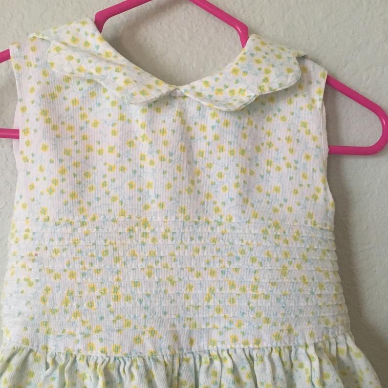 b4ec87ccfd1b Vintage Laura Ashley Dress Needlecord baby frock pastel | Etsy