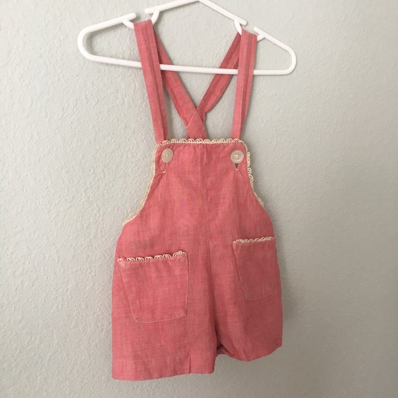aaebce4c075 Vintage Baby Romper and Hat Antique Marshall Fields toddler