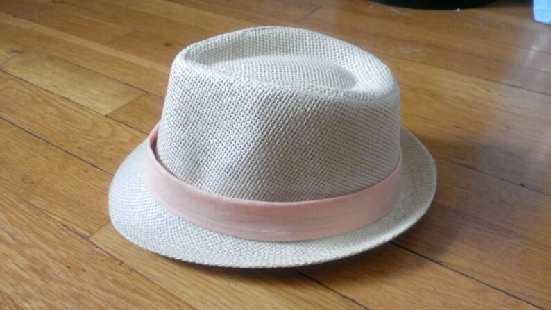 Infant Fedora Hat w. Detachable Hat Bands This listing  0dcd05700229