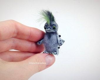 Fantasy creature OOAK doll Artist doll fantasy, soft sculpture miniature