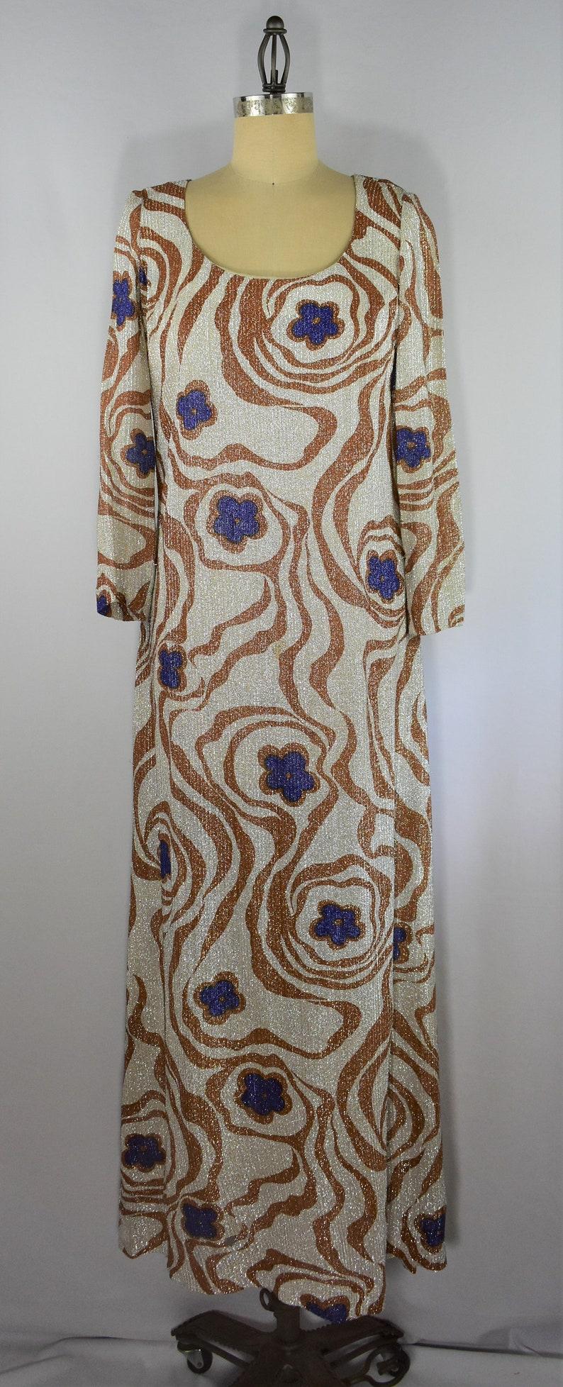 2338d605bf4 Long Sleeve Geo Print Maxi Dress   Saddha