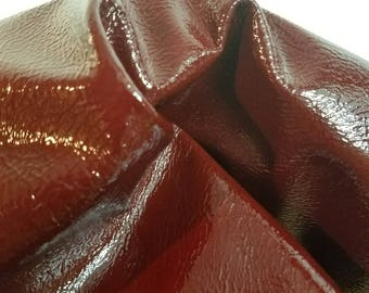 Leather Brown Pullup Crazy Horse Oil pull up nappa 4.0-5.0 oz smooth Rugged Buffalo leather skin cuts sq.ft full hide semi firm NAT leathers