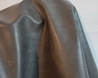 Gray Faux Vegan {Peta Approved} leather handbag upholstery craft PU Fabric sold by the yard 36 inches Synthetic NAT Leathers 1 yard to 10