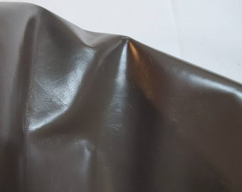 NAT Leathers 14-21 sf dark Taupe Glazed Smooth calf Nappa 2.0 oz 1.0-1.2 mm matte cowhide for handbag craft jewelry upholstery footwear