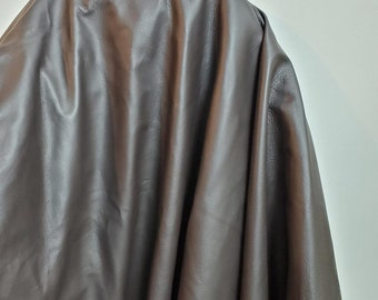 """Leather Brown """"Old English"""" natural Italian Upholstery cowhide skin cowhide hide 18-25 side or 42- 46 sf soft 2.5 oz nappa NAT Leathers"""