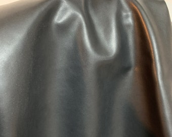 NAT Leathers One of a Kind 7 sf Gray Nappa Shine 2.5 oz 1.0-1.2 mm skin for handbag craft jewelry upholstery footwear