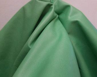 7 sq.ft Lime Green Thin soft nappa 1.5-2.0 oz smooth soft Fullgrain handbag shoe upholstery footwear craft cowhide leather skin