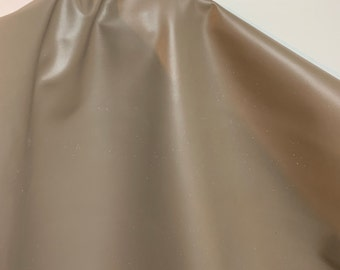 NAT Leathers 23.25 and 24.75 sf Taupe Cowhide 2.5 oz 1.0-1.2 mm smooth tanned matte for handbag craft jewelry upholstery footwear