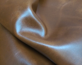 Special price tan pullup Cow 2.5 -3.0 oz book  upholstery Nat Leathers