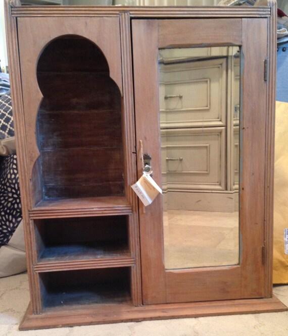 image 0 - Antique Pine Medicine Cabinet Etsy