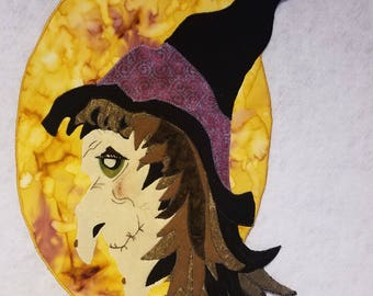 Hazel the Witch wall hanging