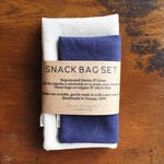 Reusable snack bags/ zero waste / storage bag / sandwich bag / plastic free