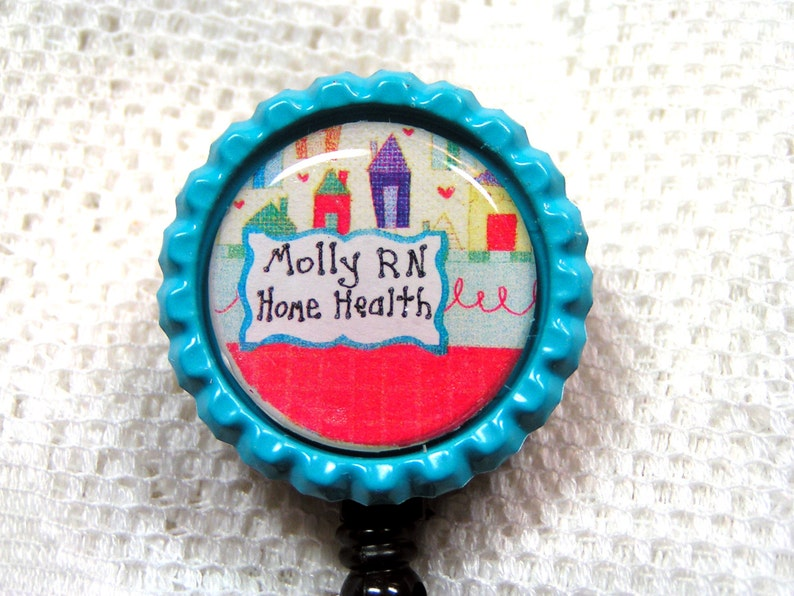Magnificent Cute Badge Reel For Home Health Nurse Red And Turquoise Badge Clip T For Nurse Custom Id Pull Personalized T For Nurse Id Clip Download Free Architecture Designs Scobabritishbridgeorg