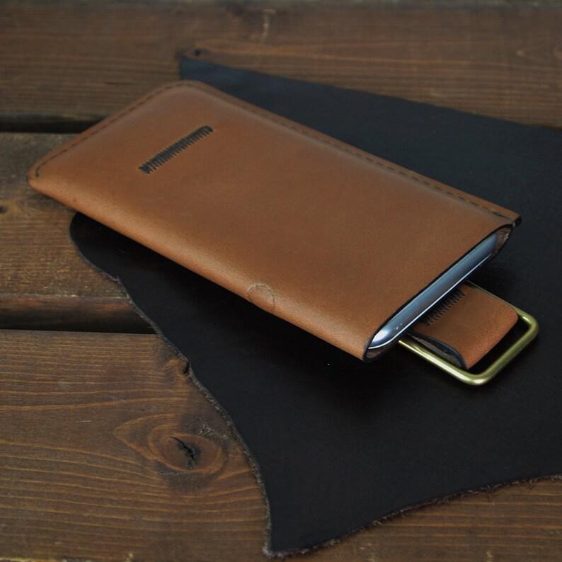 Genuine Leather iPhone 8 7 6 / iPhone 8 Plus 7 Plus 6 Plus image 0