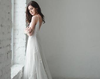Lace Slip Wedding Dresses