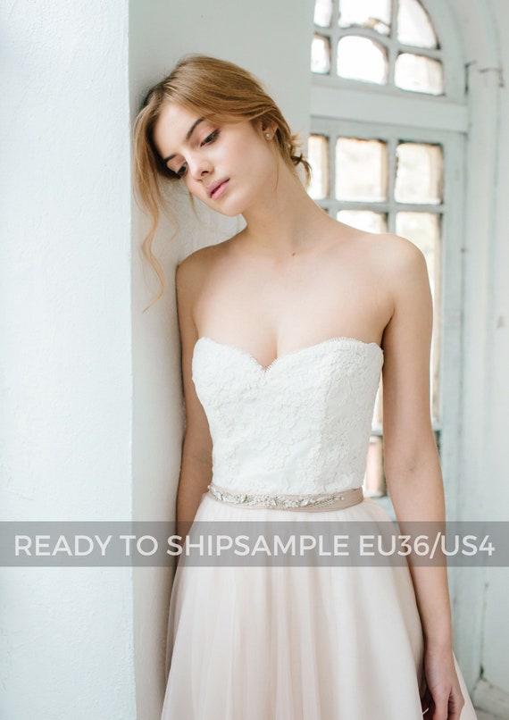 Corset Wedding Gown Dahlia Sweetheart Neckline Wedding Etsy