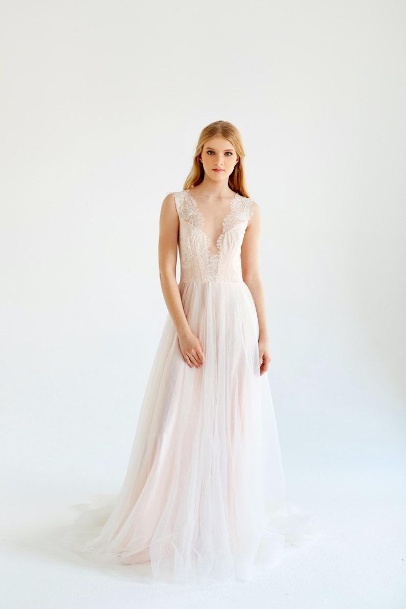 Sample Sale Ready To Ship Lace Wedding Dress Magnolia Etsy