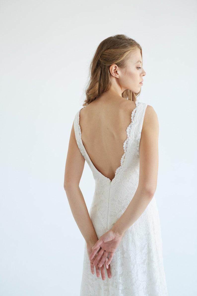 0878ed09284 Sample Sale prêt à expédier robe de mariée en dentelle robe