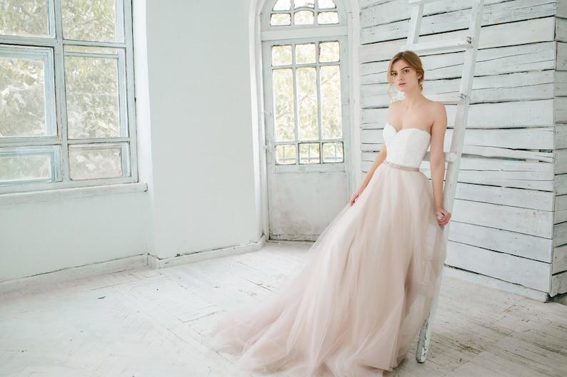Blush Wedding Dresses