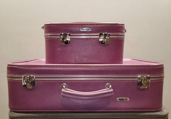 Mid Century StratolitePurple Luggage...