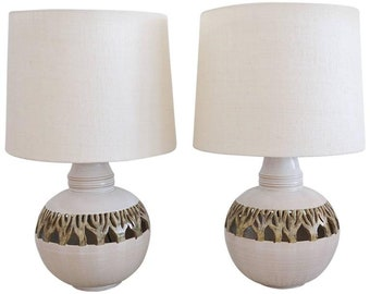 Cut Out Lamp Shade Cut out lamp shades etsy pair of ceramic cut out organic lamps with custom shades audiocablefo