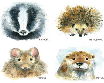 OFFER Two limited edition animal prints