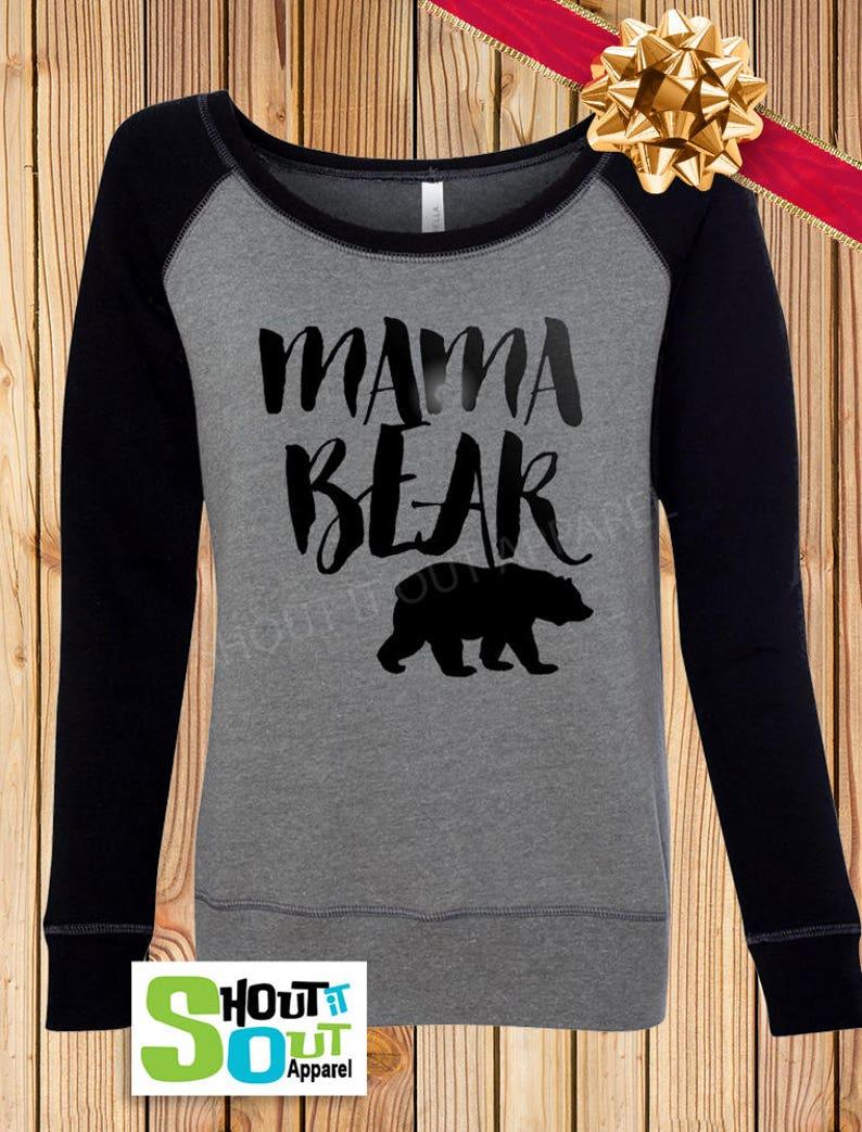 9d463b2f Mama Bear sweatshirtMom shirtMama bearMama shirtsFamily   Etsy