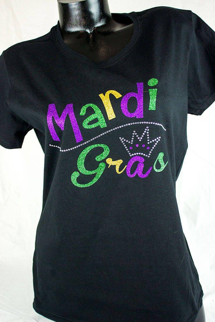 155deb5172b8f5 Mardi Gras shirts Mardi GrasNew Orleans shirtsParade | Etsy