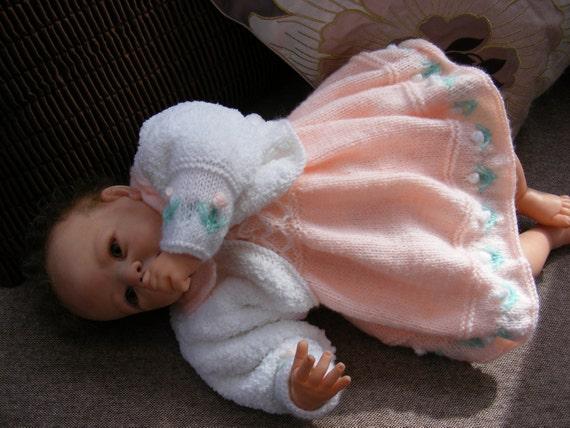 dc3069308fc9 Peach Blossom Dress Set Knitting Pattern