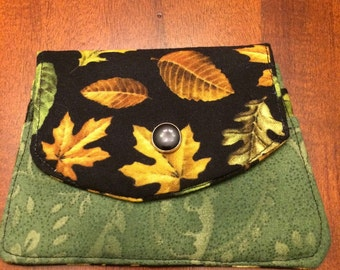 Card Wallet with three pockets.